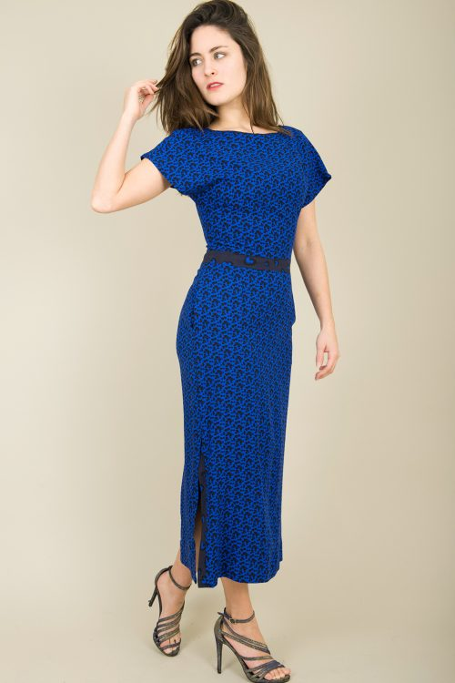 Noa Dress Blue