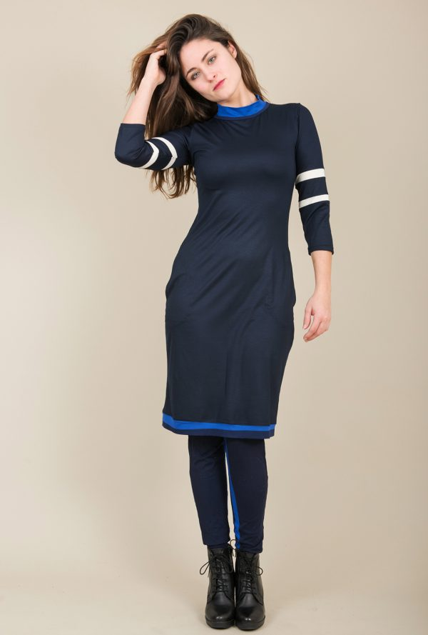 Sophie Dress Blue